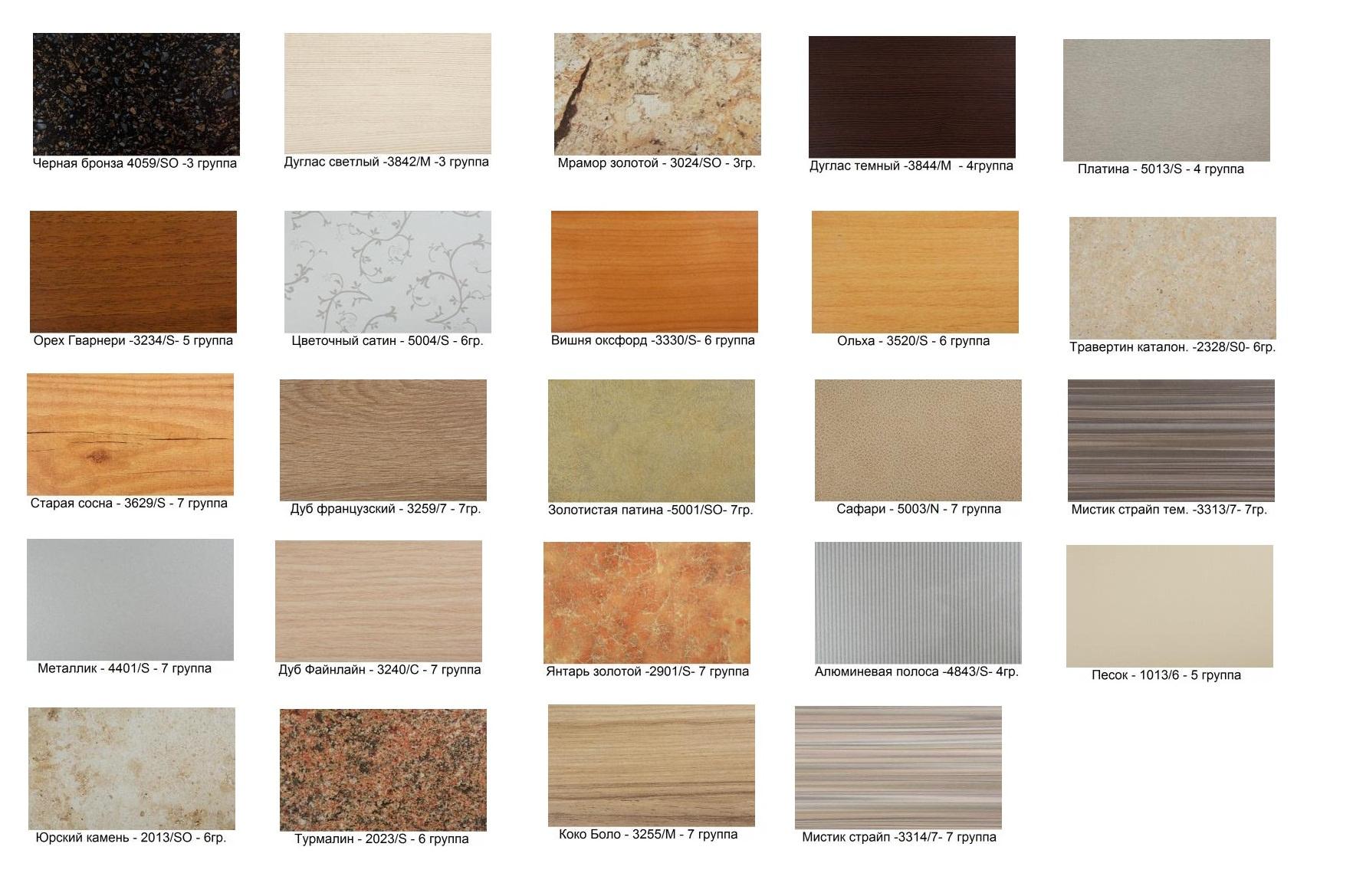 Столешницы каталог цветов фото цена