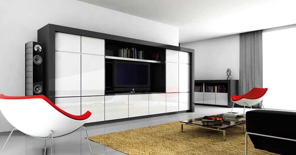 «Алвик» (4) модерн, прямая, белый