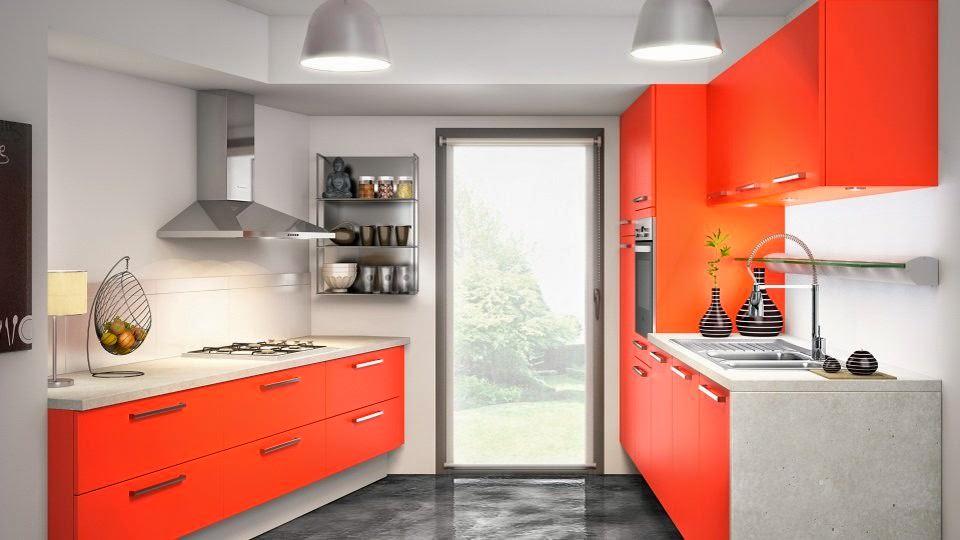 «Руфина» (20) лофт, прямая, две линии, оранжевый