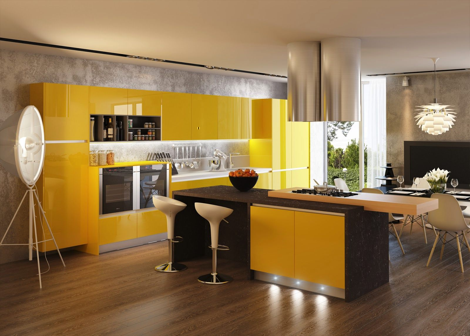 18-Yellow-kitchen