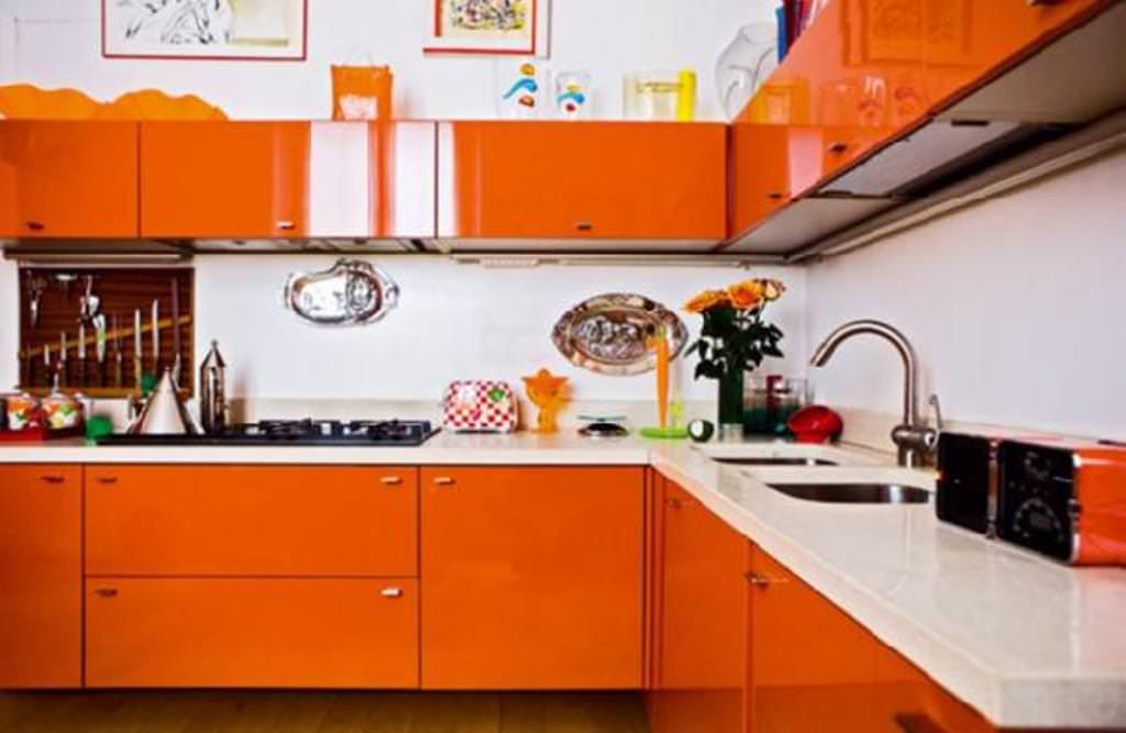 «Руфина» (23) модерн, угловая, оранжевый