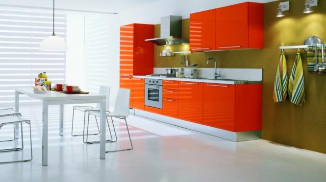 «Руфина» (22) лофт, прямая, студия, оранжевый