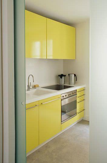 «Руфина» (5) минимализм, прямая, желтый