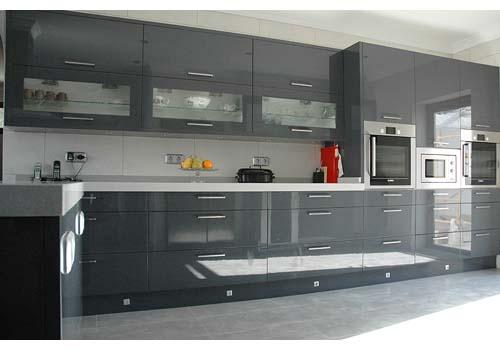 «Серафима» (7) модерн, угловая, серый