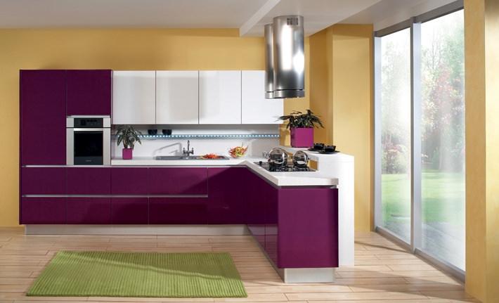 «Лилу» (15) лофт, угловая, студия, фиолетовый