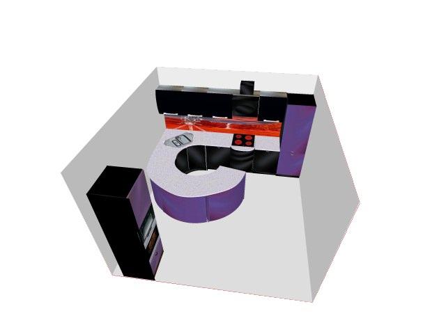3D проект (14), п-образная, прямая