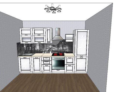 3D проект (2), прямая
