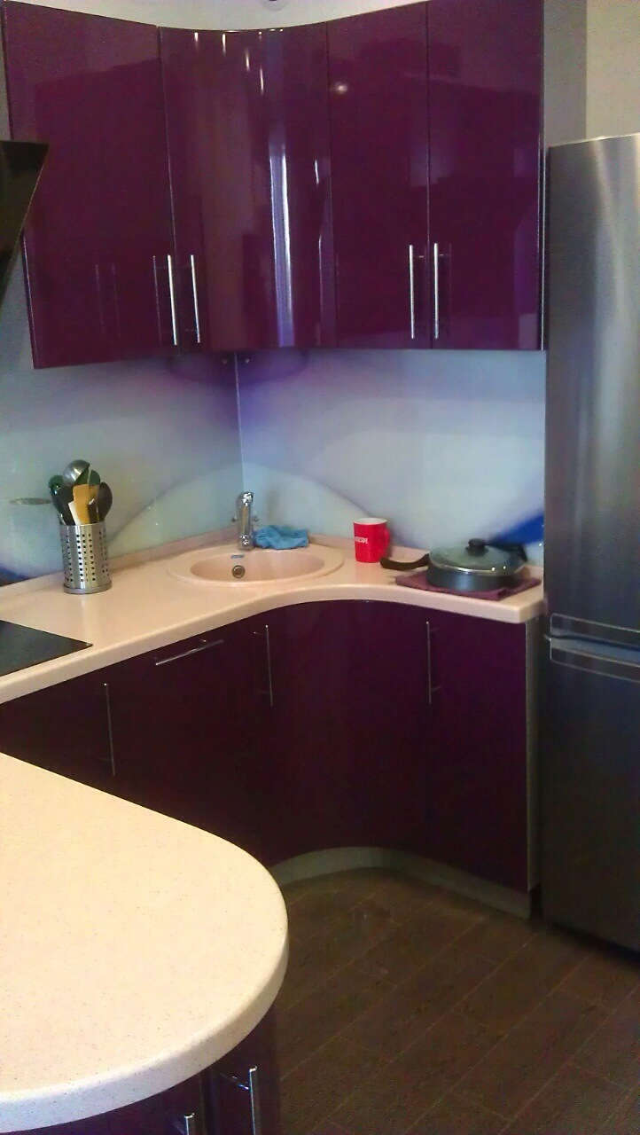 Эмаль (1), п-образная, фиолетовый