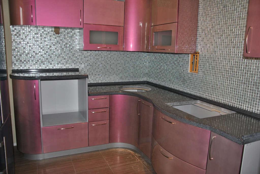 Эмаль (6), угловая, розовый