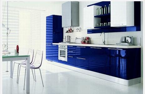 «Иона» (9) лофт, прямая, студия, синий, белый