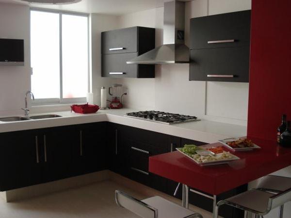 «Милана» (8) модерн, угловая, с барной стойкой, коричневый
