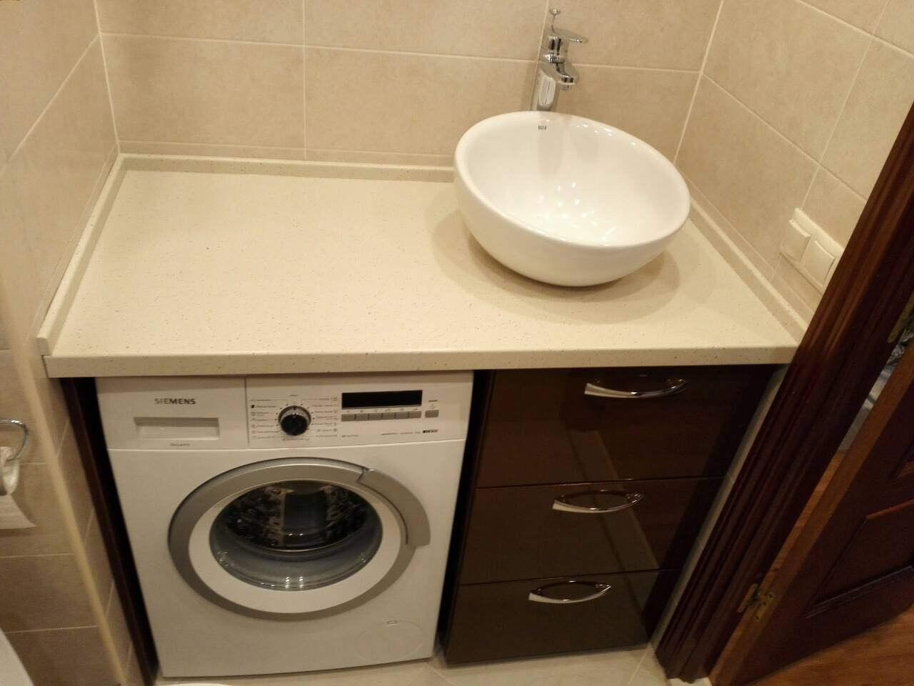 Тумба в ванную из МДФ RAL 8019